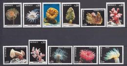 ⭐ Monaco - YT N° 1253 à 1263 - Neuf Sans Charnière - 1980 ⭐ - Unused Stamps