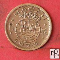 MACAU 10 AVOS 1976 -    KM# 2a - (Nº43722) - Macau