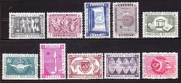 1958 Nr 1053-62** Zonder Scharnier.Wereldtentoonstelling.OBP 9,75 Euro. - Unused Stamps