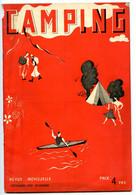 """Revue """"Camping""""  Décembre 1937 - Nombreuses Publicités - Voir Scans - Sport & Tourismus"""