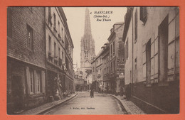 D76 - HARFLEUR - RUE THIERS - Épiceerie - Harfleur