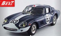 Ferrari 275 GTB/4 - Vestey/Gaspar - Spa 1967 #63 - Best Model - Best Model