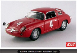 Fiat Abarth 750 - Capra - Monza 1963 #4 - Best Model - Best Model