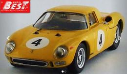 Ferrari 250 LM - J-C Franck - Jaune - Spa 1965 #4 - Best Model - Best Model