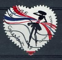 France, 0,97€, Cœur De Guerlain, 2020, Obl, TB autoadhésif - Used Stamps
