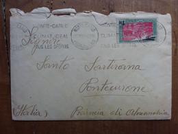 MONACO - Posta Aerea - N. 1 Su Busta Viaggiata + Spese Postali - Poste Aérienne