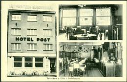 Tetschen A. Elbe I. Sudetengau. - Hotel Post - Adolf-Hitler-Platz - Sudeten