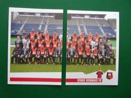 PANINI Foot 2013-14 N°366 & 367  STADE RENNAIS FC - Französische Ausgabe