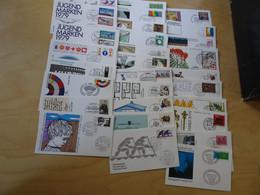 Bund Jahrgang 1979 FDC Komplett (17170) - FDC: Briefe