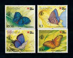 SEYCHELLES 1991 BUTTERFLIES - Farfalle