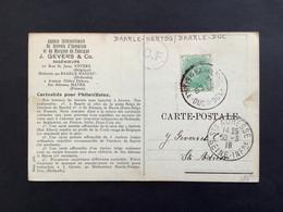 POSTKAART Relais BAARLE HERTOG BAARLE DUC - 1914-1915 Rotes Kreuz