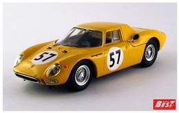 Ferrari 250 LM - Noblet/Dernier - Francorchamps 1966 #57 - Best Model - Best Model