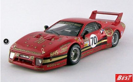 Ferrari 512 BB LM - Baird/Dieudonné/Libert - 24h Le Mans 1982 #70 - Best Model - Best Model