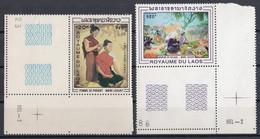 Laos 1969 Mi 268 – 269 MNH - Laos