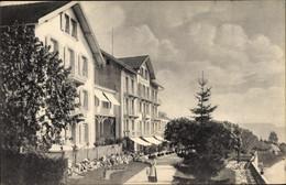 CPA Magglingen Evilard Kt. Bern Schweiz, Hotel Pension Bellevue - BE Berne