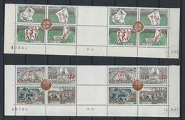 AZ-/-048-  N° 624/31,  * *  . Sur COIN DATÉ - 01/08/63 & 14/08/63, COTE 16.00 €,  IMAGE DU VERSO SUR DEMANDE - Unused Stamps