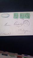 Pli France Timbre N°35 + Paire Obl. Gc1566 Cad Archambault . Aigre Signé Roumet D'après Expertise (où ? ) TTB - 1862 Napoleon III