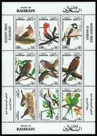 Bahrain 1991 - Mi-Nr. 432-440 ** - MNH - Vögel / Birds - Bahrein (1965-...)
