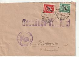 Deutsches Reich, Dienstmarke,  5 U. 10 Pfg, Landrat Oldenstadt Nach Kirchweyhe - Briefe U. Dokumente