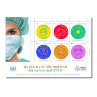 ONU 2020 - COVID 19 - Feuillet ** (Epuisé Sur Le Site De L'ONU - Out Of Stock) Dernier Exemplaire! - New York/Geneva/Vienna Joint Issues