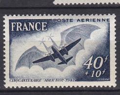 N° 23 P.A Cinquantenaire Du Premier Vol De L'avion Ader: Timbres Neuf Impeccable Sans Charnière - 1927-1959 Ungebraucht