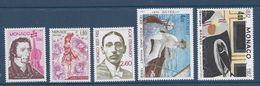 ⭐ Monaco - YT N° 1344 Et 1348 - Neuf Sans Charnière - 1982 ⭐ - Unused Stamps