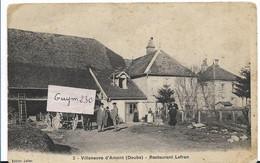 VILLENEUVE D'AMONT  Restaurant Lefran - Otros Municipios