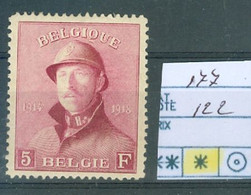 177  X Côte 122.00€ - 1919-1920 Behelmter König