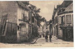 CPA  AUZANCES   Rue De L'Hôtel De Ville - Auzances