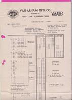 265166 / USA 1914 Fort Wayne, Indiana - VAN ARNAM MFG. CO. Makers Of Fine Closet Combinations , United States - United States