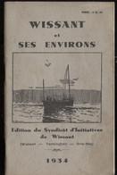 Wissant & Ses Environs Tardinghen Gris-Nez Éd Du SI 1934 + Fanion Plus Récent  Port Fr 3,86€ - Picardie - Nord-Pas-de-Calais
