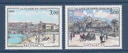 ⭐ Monaco - YT N° 1385 Et 1386 - Neuf Sans Charnière - 1983 ⭐ - Unused Stamps