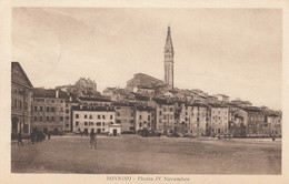 Croazia - Istria - Rovigno - Piazza IV Novembre - F. Piccolo - Viagg  - Bella Animata - Croatia