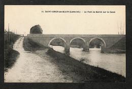 44 - SAINT-OMER-de-BLAIN - Le Pont De Barrel Sur Le Canal - Other Municipalities