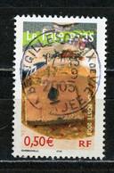 """FRANCE - LE FOIE GRAS - N° Yvert 3563 Obli. Ronde De """"ST GILLES CROIX DE VIE """" De 2003 - Oblitérés"""