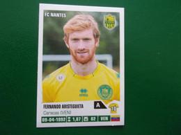 PANINI Foot 2013 -14  N°284 FC Nantes  Fernando Aristeguieta - Französische Ausgabe