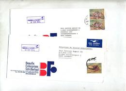 Lot Lettre 5 Cachet  Sur Faune à Voir - Malaysia (1964-...)
