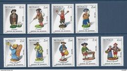 ⭐ Monaco - YT N° 1437 à 1445 - Neuf Sans Charnière - 1984 ⭐ - Unused Stamps