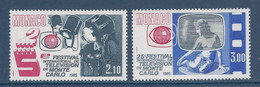 ⭐ Monaco - YT N° 1446 Et 1447 - Neuf Sans Charnière - 1984 ⭐ - Unused Stamps