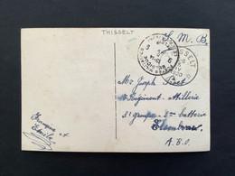 POSTKAART RELAIS THISSELT - Briefe U. Dokumente