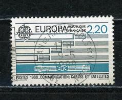 """FRANCE - EUROPA - N° Yvert 2531 Obli. Ronde De """"ST JEAN DE MARUT JOLS ET ?"""" De 1988 - Oblitérés"""