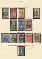 Used Stamps, Lot, INDIA, 1946, 1948, Motivos Históricos, Vultos Da India, Nosa Senhora De Fátima (Lot 539) - Portuguese India