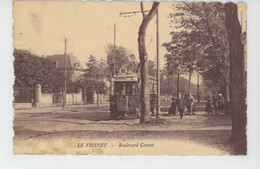 LE VÉSINET - Boulevard Carnot (tramway ) - Le Vésinet