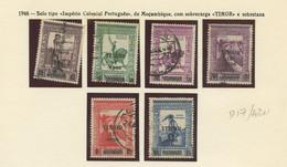 """Used Stamps, Lot, TIMOR, Série Completa, 1946, Império Colonial Português C/ Sobretaxa E Sobrecarga """"TIMOR"""" (Lot 420) - Timor"""