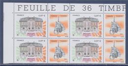 Moulins, Allier, Timbres Passion 2020 à 0.97€ Coin De Feuille Neuf 5437 Bloc X4 - Ongebruikt