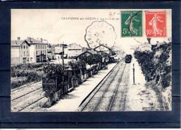 43. Craponne Sur Arzon. La Gare - Craponne Sur Arzon