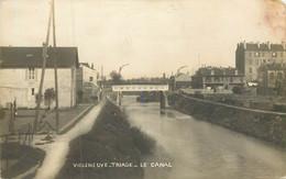 VILLENEUVE SAINT GEORGES TRIAGE Le Canal - Villeneuve Saint Georges