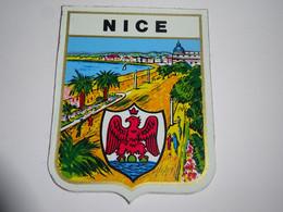 Blason écusson Adhésif Autocollant Nice Aufkleber Wappen Sticker Coat Arms Adesivi Stemma Adhesivo Escudo - Oggetti 'Ricordo Di'