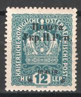 Ucraina Occidentale 1919 Unif.58 */MH VF/F - Ucraina
