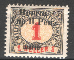 Ucraina Occidentale 1919 Unif.95 */MH VF/F - Ucraina